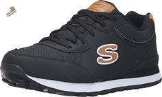 Skechers Women's OG 82 Smooth Movez Sneaker,Black,US 9 M - Skechers sneakers for women (*Amazon Partner-Link)