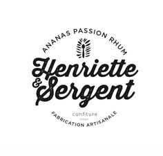 Logo & packaging / Henriette & Sergent
