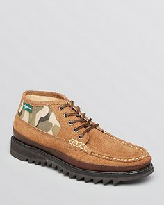 Eastland 1955 Edition Norwich Suede & Camo Chukka Boots | Bloomingdale's