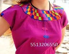 Blusa Chiapas Bordadas - $ 100.00