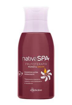 #OBoticario #NativaSPA #Frutoterapia Shampoo Ultra Hidratante Monoï e Argan