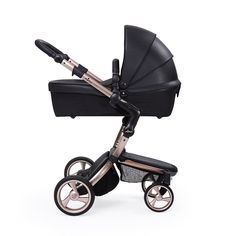 Kinderwagen mima xari rosé gold flair black