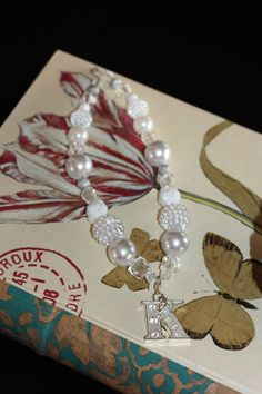 White Elegance is a Chunky Bubblegum Necklace with by KChicDesigns, $22.50