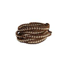 Love this! Found it on Beautiful Baubles  Leela Brown bracelet   https://beautifulbaublesbychar.kitsylane.com