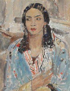 The Blue Jacket by Ethel Walker