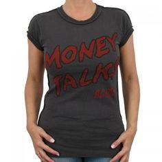 GirlieT-Shirts    Kult Band AC/DC    Eng anliegendes Amplified Band T-Shirt aus 100% Baumwolle mit Motiv MONEY TALKS der Kult-Band AC/DC und auf der Rückseide gesticktem Amplified Motiv Band T Shirts, Kult, Ac Dc, Mens Tops, Fashion, Silk, Cotton, Moda, Fashion Styles