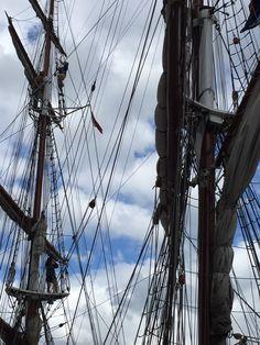Tall ships. Belfast 2015