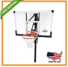 Lifetime In-Ground Basketball Hoop - 90014 Goal System - 54-inch Glass Backboard