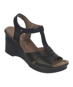 Love this Jet Black Ravish Wedge on #zulily! #zulilyfinds