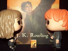Harry Potter e as Relíquias da Morte  Harry Potter and the Deatlhy Hallows  Funko Pop! Hermione Granger & Ron Weasley