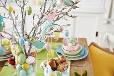Easter table by #bedbathntable #tabletop