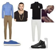 """""""Singles Valentine's Day Club Night"""" by luvtheskittles on Polyvore featuring Polo Ralph Lauren, Brioni, Alexander McQueen, Camper, mens, men, men's wear, mens wear, male and mens clothing"""