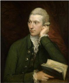 History of fashion in art & photo — ab. 1775 Thomas Gainsborough - Portrait of John...