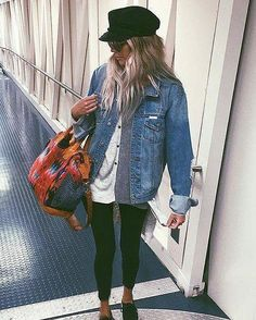 Travelling outfit goals ✈️