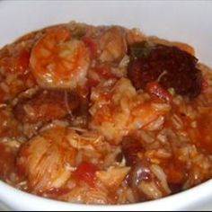 Butt+Kickin'+Jambalaya on BigOven: A+kicked+up+version+that+can+be+hot+or+not+depending+upon+how+much+blacken+you+add.