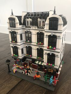 Dl_bricksu0027 Newest Built Is A Modular Bike And Sweet Shop. The Four Story  Building