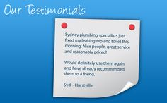 Please check our website http://www.spsplumbers.com.au/