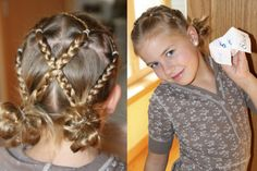 Great style for a wedding or party for a little girl from cute to try hairdos, but allot enough time!