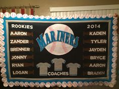 Little League Banner...I made this for my sons baseball team.  I wanted to share, since I got the idea for my banner from Pinterest.