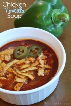Chicken Tortilla Soup | Easy Gourmet
