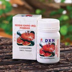 RG (Reishigano) powder http://www.dxnengland.com/products/ganoderma-food-supplements/