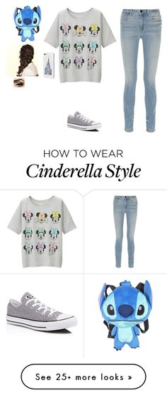 """""""DISNEY!:)"""" by oliviamagic on Polyvore featuring Uniqlo, Alexander Wang, Converse and Disney"""