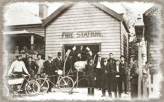 Katoomba Fire Station of yesteryear