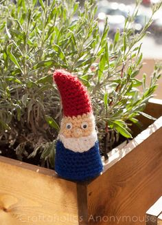 Amigurumi Gnome Crochet Pattern As it's summer it's time for some crochet garden decoration (or something to put on your balcony if you're lacking a garden, like I do ;))