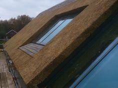 Royale Villa met leien en riet - Project rieten dak