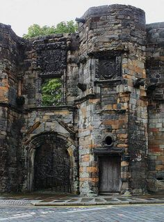 Mar's Wark is a ruined building in Stirling built 1570–1572 by John Erskine, Regent of Scotland and Earl of Mar, and now in the care of Historic Scotland.