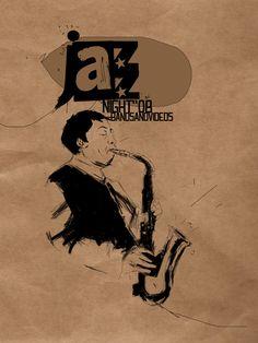 days of jazz / poster design
