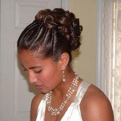 Wedding Hair for Black Women   Wedding Hairstyles For Black Women