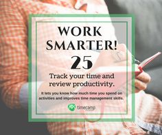 Work Smarter and focus on your today tasks! Tracking App, Tracking Software, Time Management Skills, Focus On Yourself, Insight, How To Get, Productivity, Tips, Advice