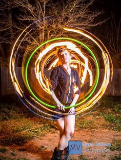 Come in people and enjoy the #glow - @Interpol is coming to #ACLFest! #mviphotos @hoopingdotorg #firehooping