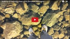 OMG !! Walking On Water Beautiful Clean Ice ..(video)