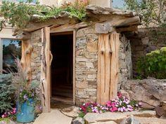 Outdoor Saunas Gallery | Outdoor Spaces - Patio Ideas, Decks & Gardens | HGTV