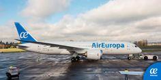 Boeing 787 Air Europa, Boeing 787 Dreamliner, Aircraft, Europe, America, Vehicles, Cruise, Transportation, Venezuela