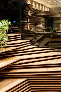 Incroyable architecture pour le Shun*Shoku Lounge