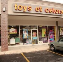 Toys et Cetera in Lincoln Park, Chicago, Illinois, USA