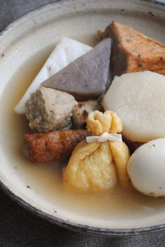 Japanese Oden Fish Stew