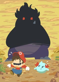 An Illustration Outlet: My complete Paper Mario set, with all of the. All Mario Games, Mario Run, Mario Bros., Super Mario Art, Super Mario World, Nintendo, Game Character, Character Design, Video Game Art