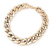 Shiny Light Gold Chunky Aluminium Curb Chain ... – EUR € 3.67
