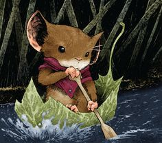 Mouse Guard: Fall 1152, #2 (2006). Written & illustrated by David Petersen.
