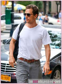Matthew McConaughey & Camila Alves Arrive At Their NYC Hotel