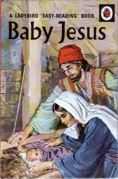 BABY JESUS Vintage Ladybird Book Bible Stories Series 606A Matt