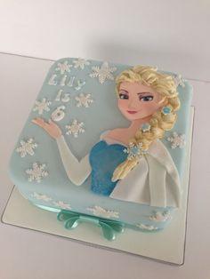 Disney's Frozen Cake by The Rosebud Cake Co.