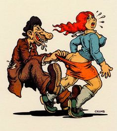 Robert Crumb Robert Crumb, Fritz The Cat, Heavy Metal Art, Art Jokes, Batman, Jean Giraud, Lowbrow Art, Frank Frazetta, Alex Ross