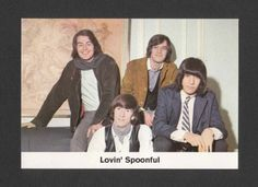 The Lovin' Spoonful 1969 Pop Rock Card Germany