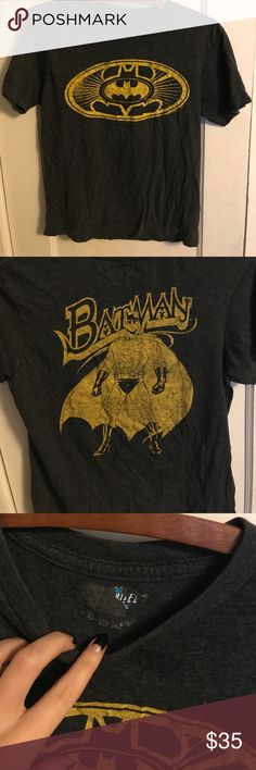 1980s Vintage Batman shirt Super soft vintage tee with Bateman graphics. No stains or damage whatsoever Tops Tees - Short Sleeve