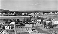 Nord-Trøndelag fylke Verdal kommune Verdalsøra 1954 Utg Mittet
